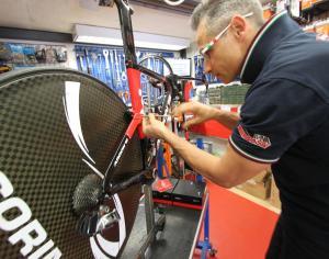 officina biciclette bici corsa santa margherita